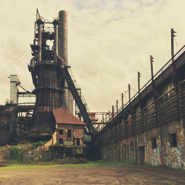 Carrie Furnaces, Pittsburgh PA / © Meghan Tutolo