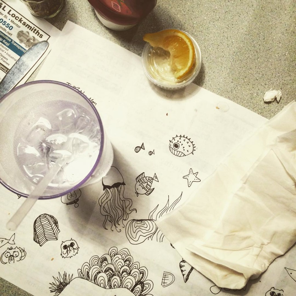 Dingy Diner Doodles