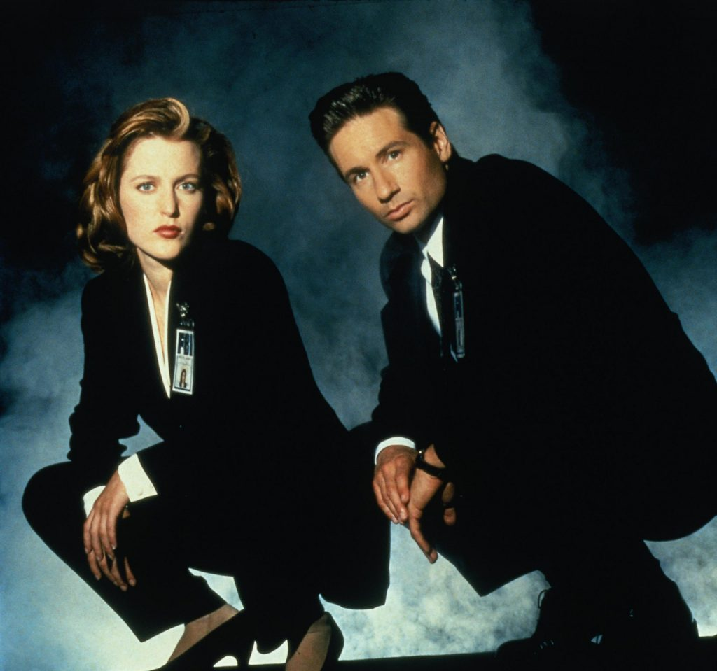 The X Files - Mulder & Scully